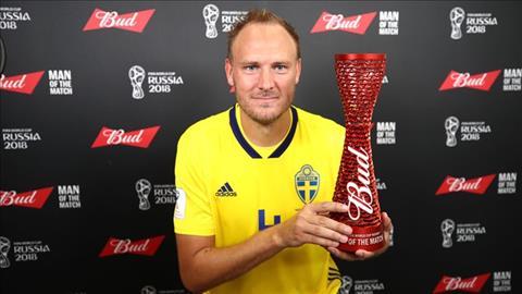 Đội trưởng Thụy Điển nói gì sau bàn thắng vào lưới Hàn Quốc?