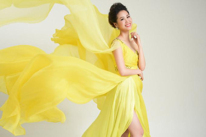 Dương Thùy Linh tham dự Mrs Worldwide 2018