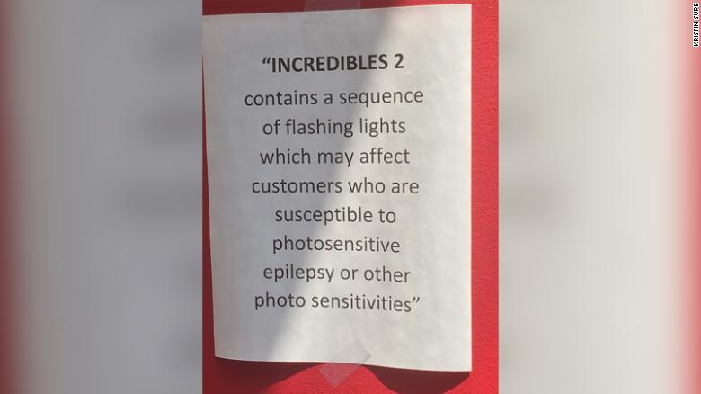 Hiệu ứng ánh sáng trong Incredibles 2 ảnh hưởng đến sức khoẻ người xem?