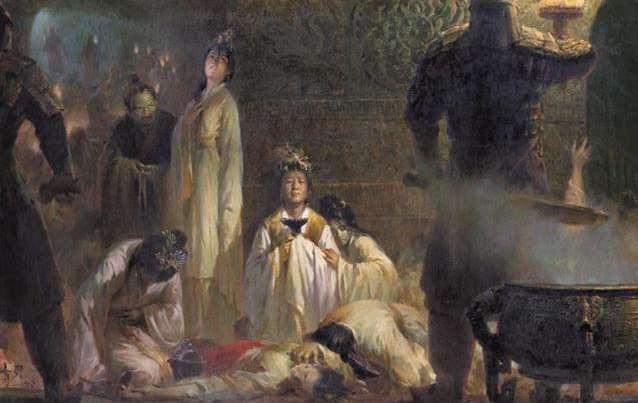 Sự kiện tuẫn táng tàn nhẫn nhất lịch sử TQ: Hạ độc kế giết sống thường dân để bồi táng