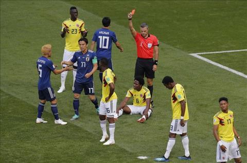 Tội đồ Sanchez nói gì sau khi Colombia thua Nhật Bản?