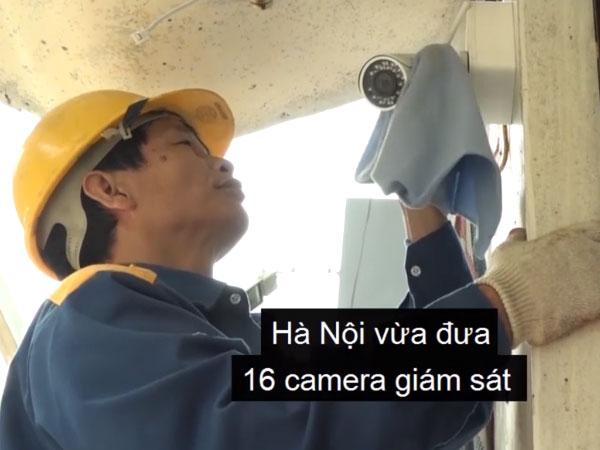 Hà Nội lắp hàng chục camera cảnh báo ngập úng
