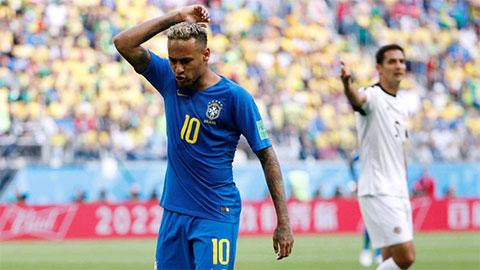 Neymar lăng mạ Thiago Silva ở trận thắng Costa Rica
