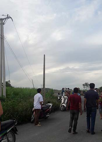 Bốn người ở Nghệ An bị điện giật tử vong