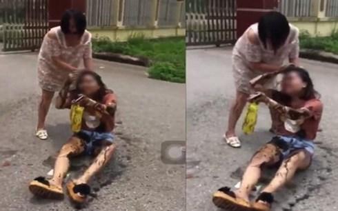 Công an vào cuộc vụ bà bầu mang mắm tôm đánh ghen ở Thái Nguyên