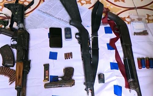 Trùm ma tuý ở Sơn La có 7 tay súng bảo vệ