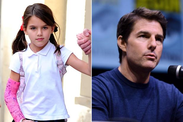 Suri lộ ảnh bán nước chanh ngoài đường kiếm từng đồng, Tom Cruise quyết định gặp con gái