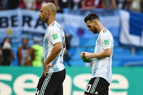 Thua Pháp bẽ bàng, hai trụ cột cùng nói lời chia tay ĐT Argentina