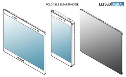 Oppo nghiên cứu smartphone màn hình uốn dẻo có túi khí