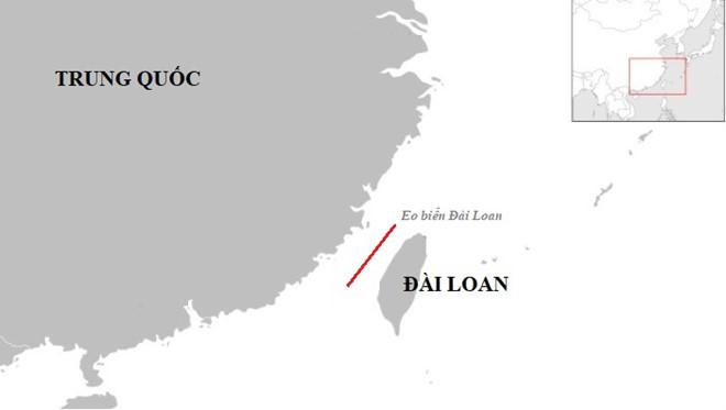 Tàu chiến Mỹ đi qua eo biển Đài Loan giữa căng thẳng với TQ