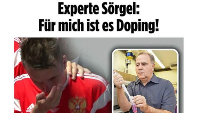 Bác sĩ ĐT Nga phủ nhận cho cầu thủ sử dụng doping