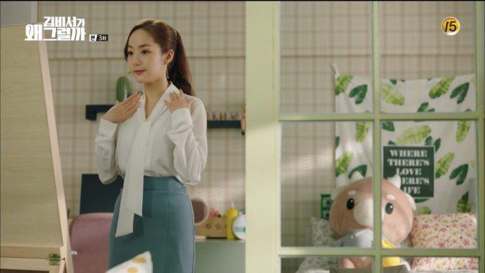Áo blouse được thư ký Kim lăng xê: thanh lịch, cuốn hút và các cô nàng công sở có thể học theo