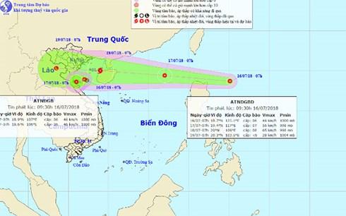 Áp thấp nhiệt đới vào Biển Đông, có khả năng mạnh lên thành bão