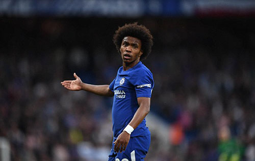 Chelsea ra giá 91 triệu đôla cho Willian