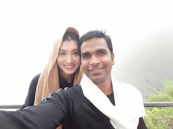 Nguyệt Ánh Cổng mặt trời sinh quý tử cho chồng Ấn Độ sau 1 năm kết hôn