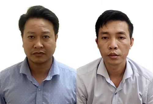 Hai cán bộ bị bắt trong vụ án gian lận điểm thi ở Hòa Bình