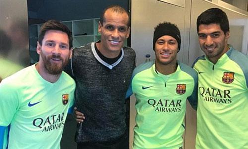 Rivaldo: Sớm muộn gì Neymar cũng về Real
