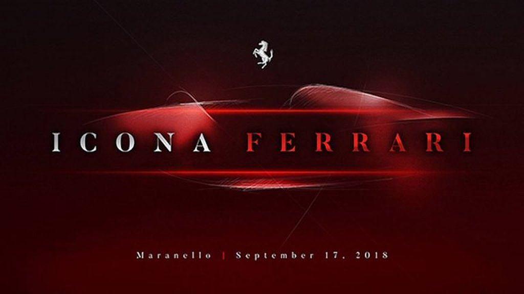 Ferrari sắp tung ra siêu xe mới vào ngày 17/9 tới
