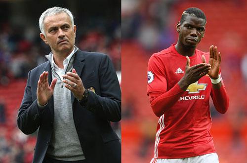 Mourinho chơi trò nói vậy mà không phải vậy với Pogba và Martial?