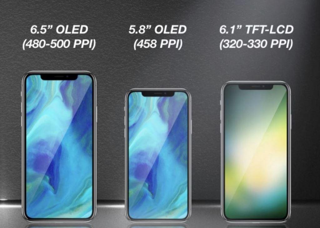 Hé lộ tên gọi của ba chiếc iphone mới