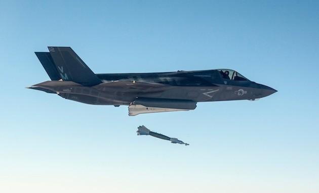 Đứa con lắm tật F-35 Mỹ muối mặt tránh xa tọa độ lửa Syria: Quyết định chóng vánh