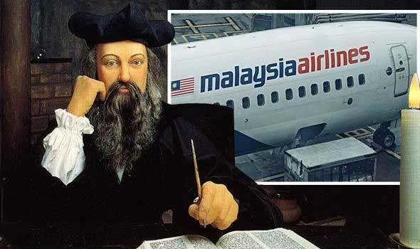 Nhà tiên tri Nostradamus đã đoán trước thảm kịch MH370?