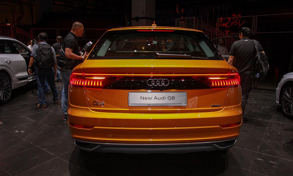 Audi Q8 2019 sẽ chào khách Việt cuối tháng 10