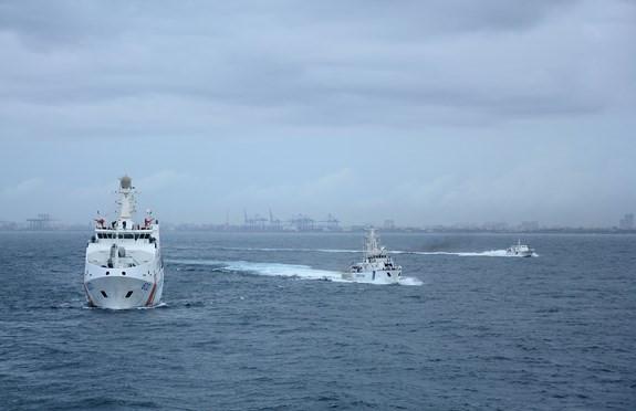 Khoảnh khắc ấn tượng tàu CSB Việt Nam thăm Ấn Độ