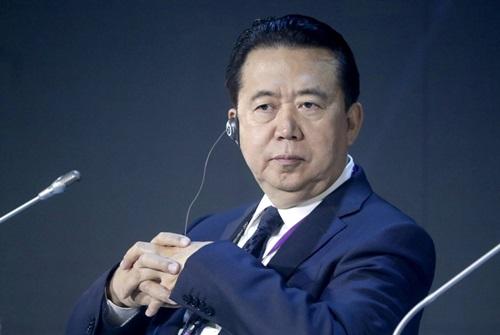 Interpol buộc phải chấp nhận đơn từ chức của cựu chủ tịch người Trung Quốc