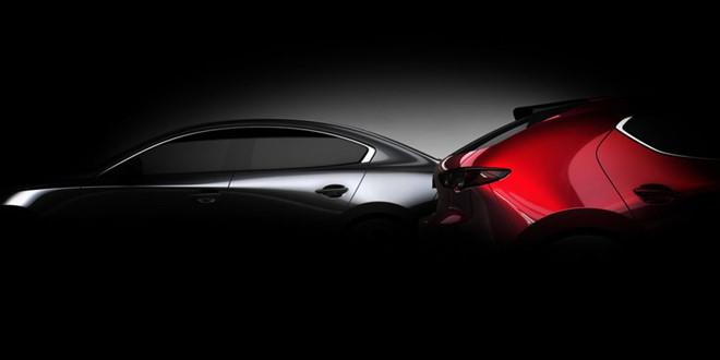 Mazda3 bản sedan và hatchback mới lộ diện
