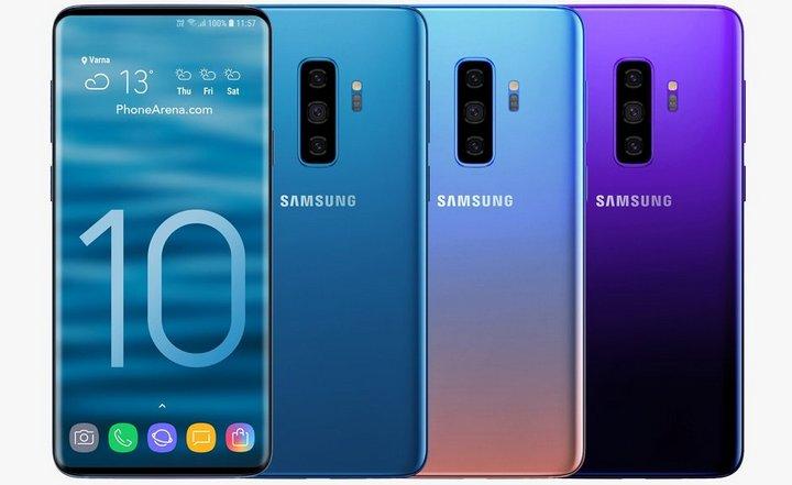 Galaxy S10 sẽ có phiên bản vỏ gốm với hai màu đen, trắng