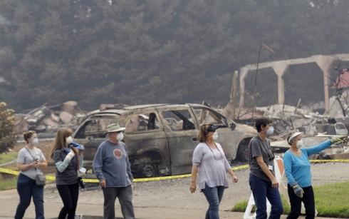 Mỹ: Hàng nghìn cư dân được phép trở về nhà sau thảm họa cháy rừng