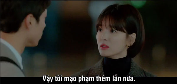 Mải mê ngắm trai trẻ, Song Hye Kyo tự gây tai nạn