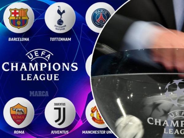 Bốc thăm vòng 1/8 Champions League: Chuông nguyện hồn ai?