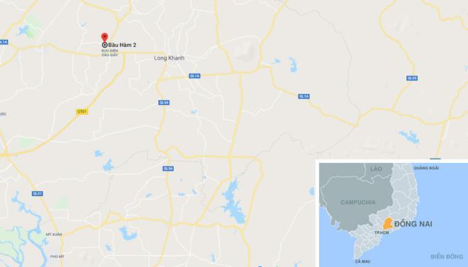 Xác người đàn ông bán vé số trong lô cao su ở Đồng Nai