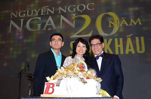 Chân dung người vợ 'vừa gặp 1 ngày đã hỏi cưới' của MC Nguyễn Ngọc Ngạn