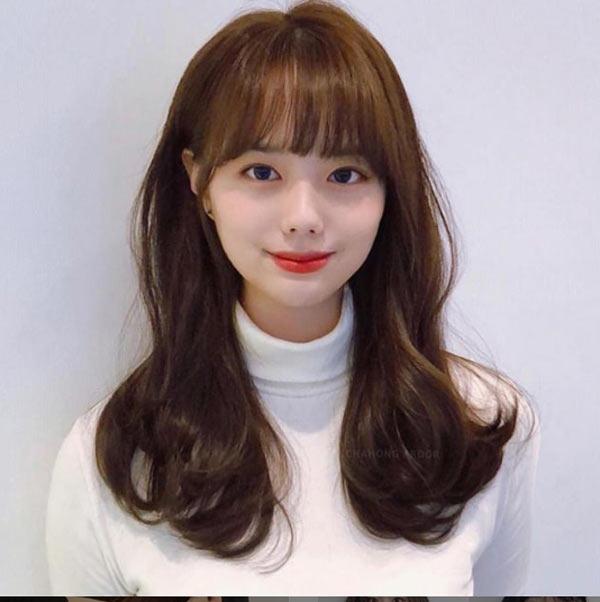 Chị em Hàn Quốc gợi ý tóc tỉa tầng xinh hợp mùa xuân