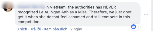 Lê Âu Ngân Anh và chuyện có 1-0-2 tại Hoa hậu Liên lục địa 2018: Bị fan Việt vào fanpage quốc tế tố thi chui