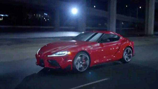 Thêm nhiều hình ảnh của Toyota Supra 2020 xuất hiện