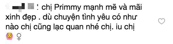 Primmy Trương khẳng định chỉ có gia đình và bạn bè đối tốt với mình giữa lúc rộ tin đồn chia tay Phan Thành
