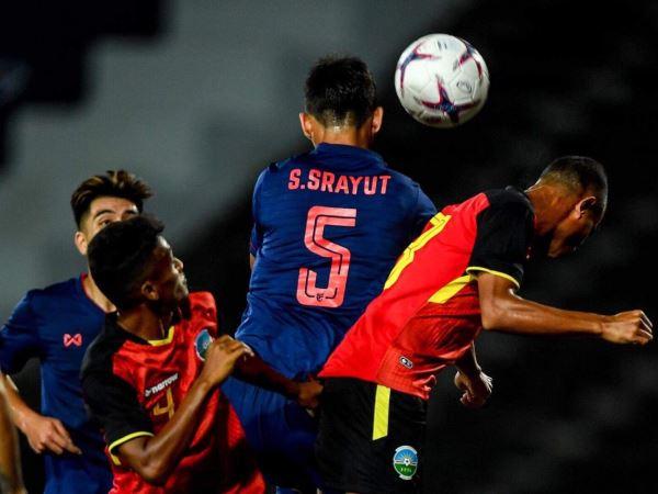 Nhọc nhằn giành 3 điểm, U22 Thái Lan xếp dưới U22 Việt Nam sau loạt ra quân