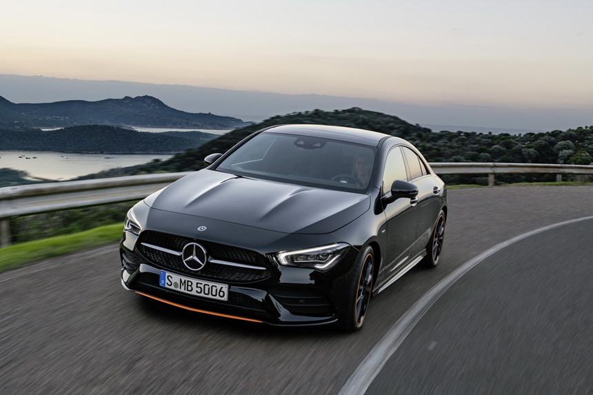 Mercedes-Benz CLA 2019 - Coupe giá rẻ trong phân khúc hạng sang