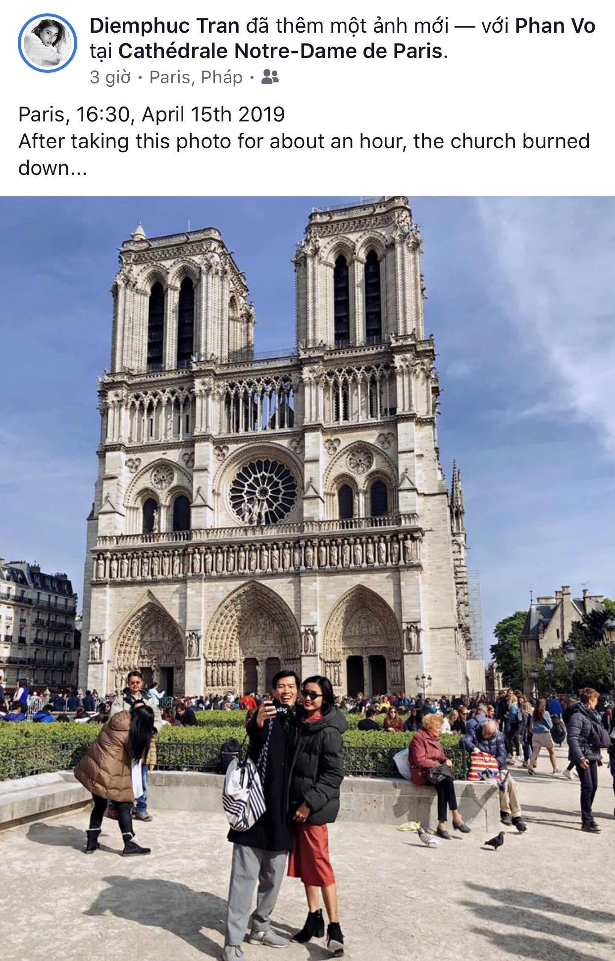 Giới trẻ Việt đồng loạt đăng status xót xa khi thấy Nhà thờ Đức Bà Paris cháy: Cuộc hẹn với nước Pháp đã không còn vẹn nguyên!