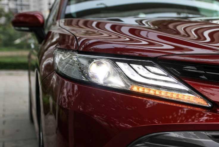 Toyota Camry thế hệ mới tại Việt Nam đầy công nghệ