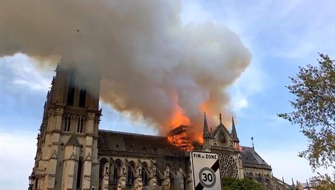 Tổn thất 1 tỷ euro cháy Nhà thờ Đức Bà có thể không được bảo hiểm