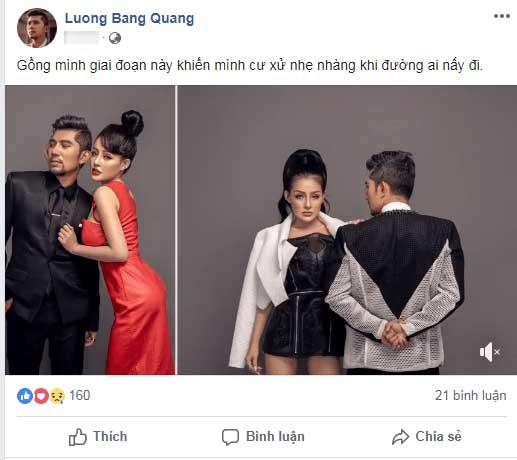 Dân mạng hả hê khi Ngân 98 chia tay Lương Bằng Quang, hot girl ngực khủng tức giận lên tiếng