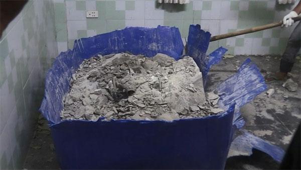 Vụ 2 thi thể bị đổ bê tông: Nghi can dùng dao đâm nhiều nhát vào xác cho xẹp xuống, nhét vào thùng… rồi tu luyện tiếp - 2