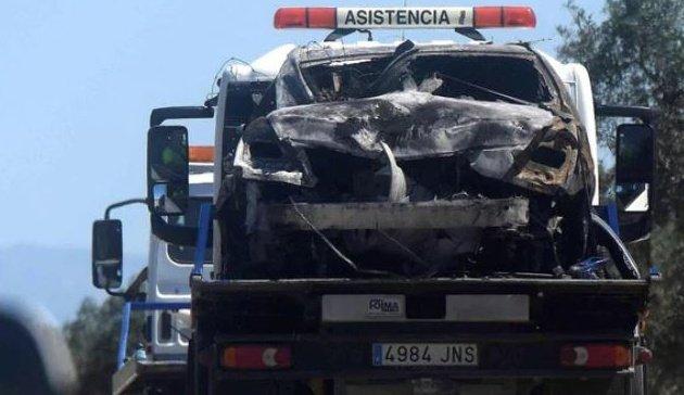 Antonio Reyes đã lái xe với tốc độ 237km/h trước khi gặp tai nạn thảm khốc - 3