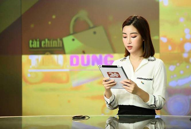 Đỗ Mỹ Linh bị nhà đài nhắc nhở vì trang phục 'hoành tráng' khi dẫn sóng VTV