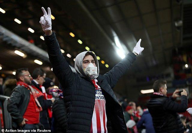 41 người tử vong vì Covid-19 liên quan tới trận Liverpool - Atletico Madrid